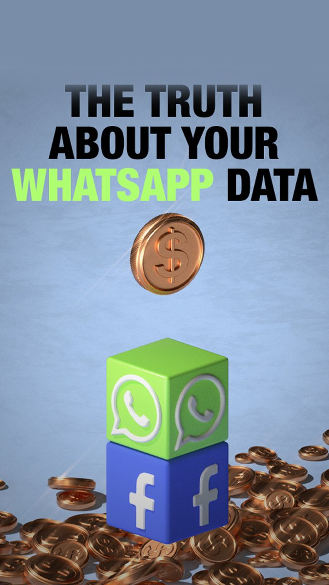 The truth about your WhatsApp data  Why there was a backlash this week to WhatsApp, and what, if anything, has changed  Read: