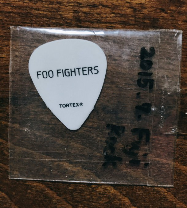 Happy Birthday, Dave Grohl!! This is my treasure