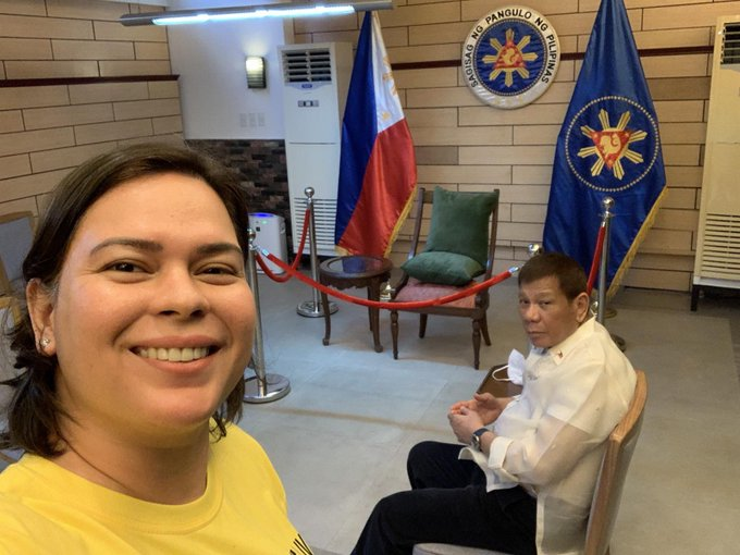 Davao City Mayor Inday Sara Duterte: I went to see him (PRRD) last Jan. 8. I told him I do not intend to run for President, he replied, very good. He also said he did not want me to run but nothing about gender was discussed.  (📸Mayor Inday Sara Duterte) | via @R_G_Cruz888