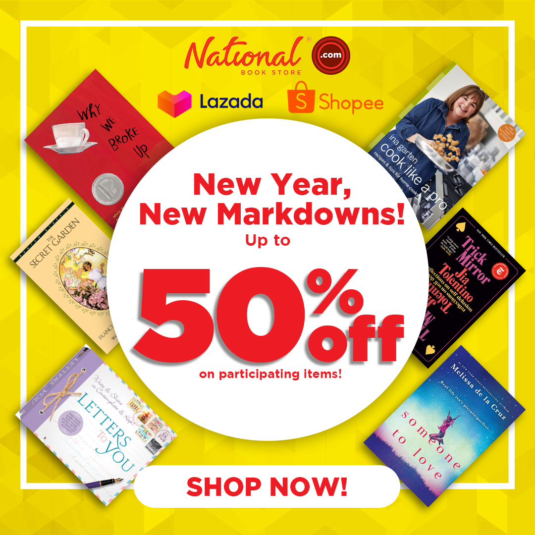 SALE ALERT: Get up to 50% OFF on participating books and supplies on NBS online, from January 15 to 18, 2021 only!  Add to cart and check out: 🔗 🔗 🔗  #Sale #NBSsale #NBSeveryday