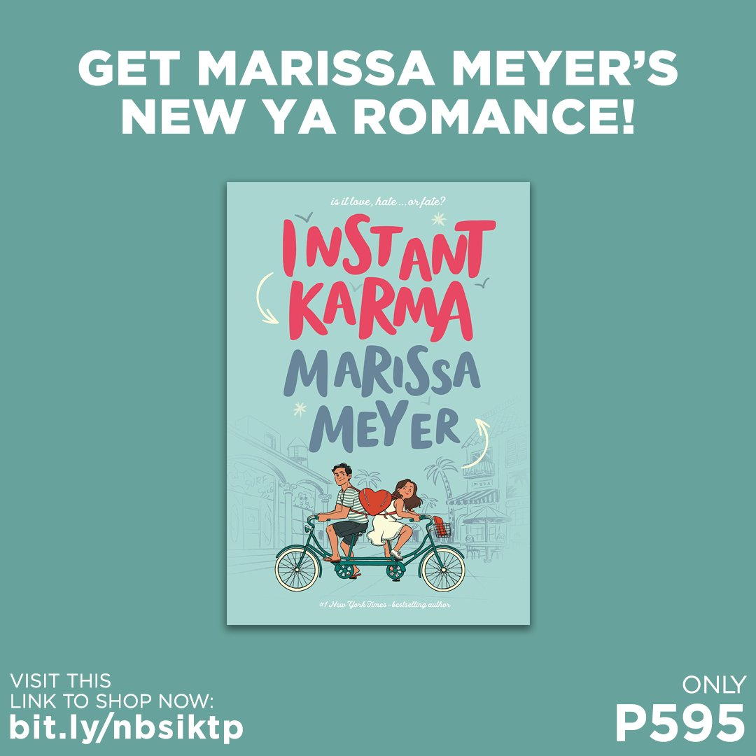 Get a copy of Instant Karma by Marissa Meyer for only P595!  Shop for it in selected branches or online: . #InstantKarma #MarissaMeyer #NBSNewReads #NBSbookstagram #NBSeveryday