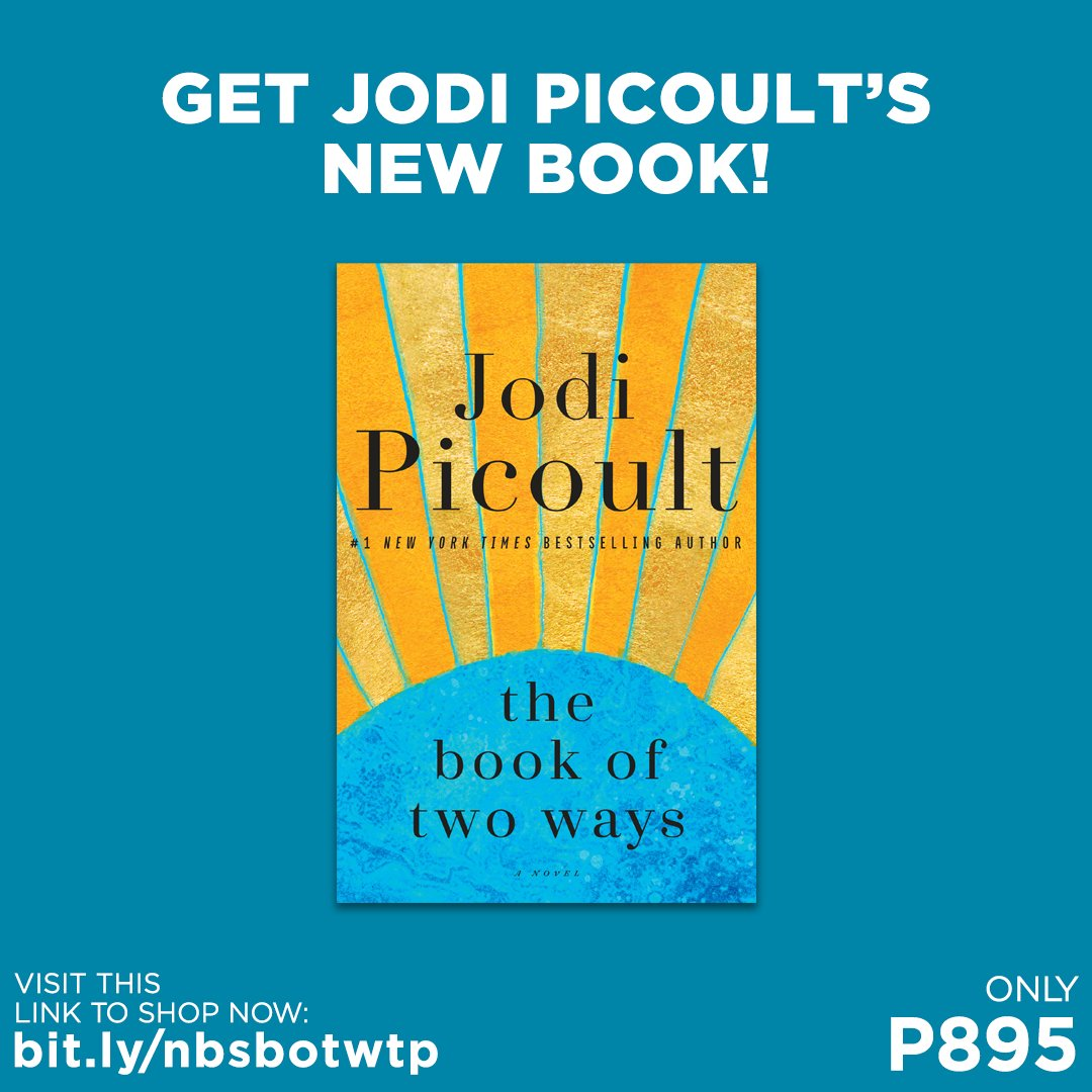 Get a copy of The Book of Two Ways by Jodi Picoult for only P895!  Shop for it in selected branches or online: . #TheBookOfTwoWays #JodiPicoult #NBSNewReads #NBSbookstagram #NBSeveryday