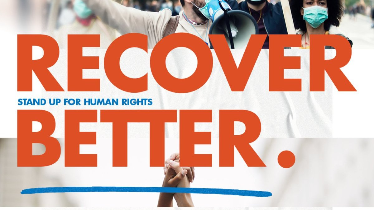 🔴Starting soon!  UN Human Rights Council to discuss a human rights-based recovery to COVID-19 and reaching the @GlobalGoalsUN  🕒15:00 CET 📺WATCH    ℹ️ INFO   #StandUp4HumanRights