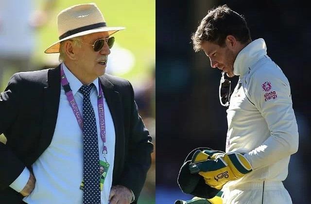 इयान चैपल ने टिम पेन को लगाई फटकार, कहा- मुंह बंद रखो और अपना काम करो   #AusvInd #SydneyTest #IanChappell #TimPaine