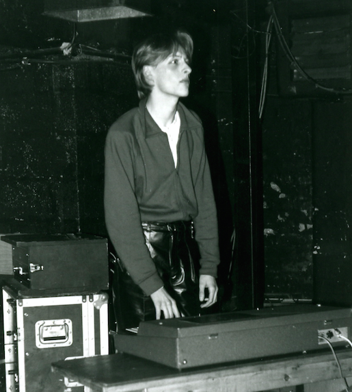 Remember when David Bowie played keyboards for Iggy Pop on his 1977 tour? This is nothing like that. Me in 1979 playing for the Bunnymen at Liverpool Erics club on their 3rd, and 4th ever gigs. x