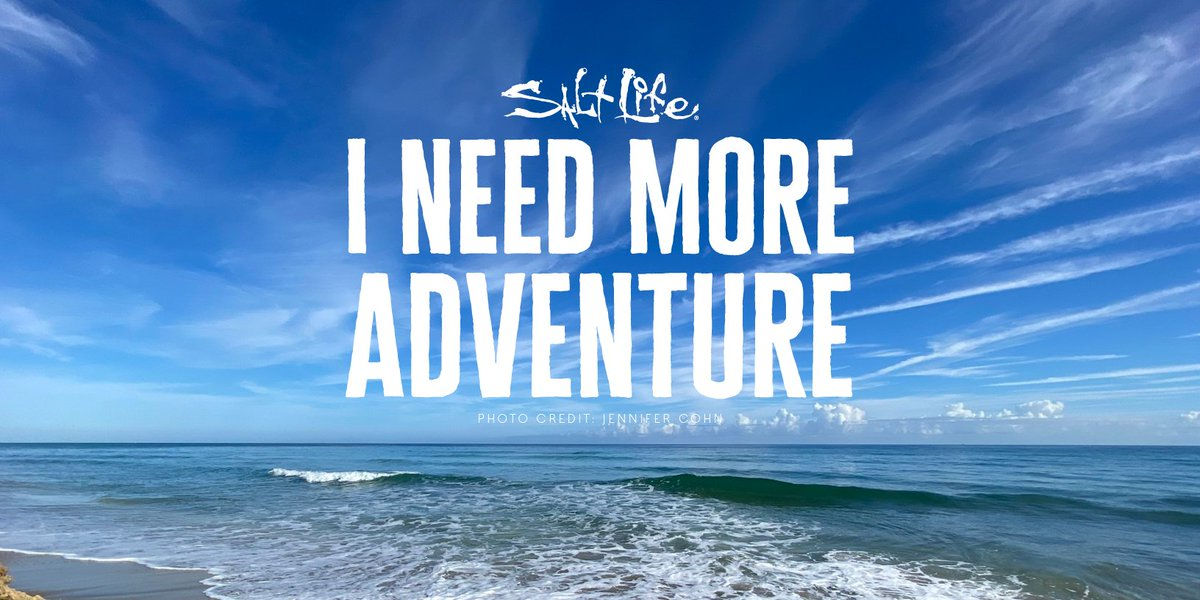 Do YOU Need More Adventure?? 🌊   #LiveSalty #ThursdayThoughts