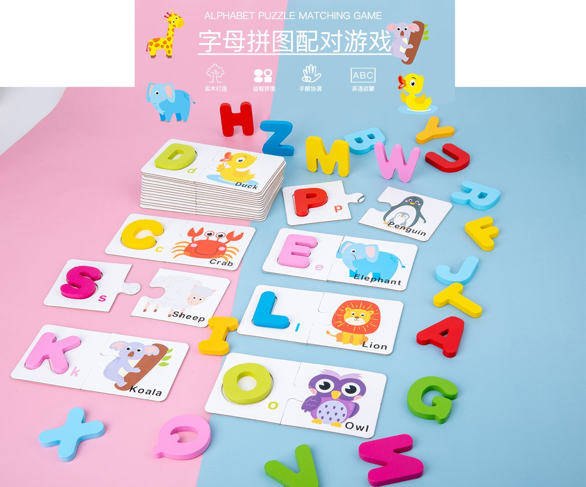 Letter puzzle is coming! Material meets safety standards! Stimulate children's interest in learning and cultivate children's hands-on learning ability. It is the best gift for children. Want to know more? Welcome to click⬇️  #puzzlesandspells #toyahwillcox