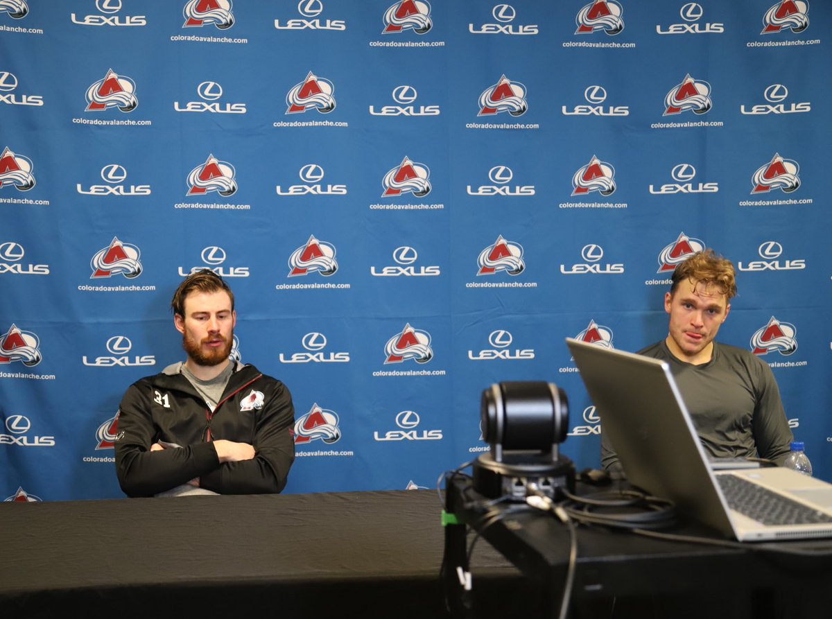 """""""It was a short camp but it's not an excuse. We gotta do work and moving forward it's gonna get better."""" - Phillipp Grubauer   #GoAvsGo"""