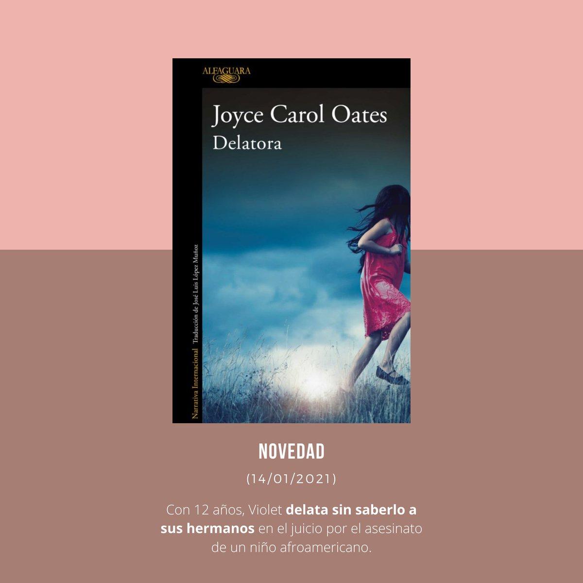 """#NovedadesLiterarias 🆕  Joyce Carol Oates presenta """"Delatora"""" e Ibon Martín sorprende a sus lectores con """"La hora de las gaviotas"""", ambientada en la costa vasca.  Tampoco os podéis perder la nueva novela de Anne Tyler, ni la de J.P. Delaney, autor de """"La chica de antes"""". https://t.co/Z09Zzjjkk1"""