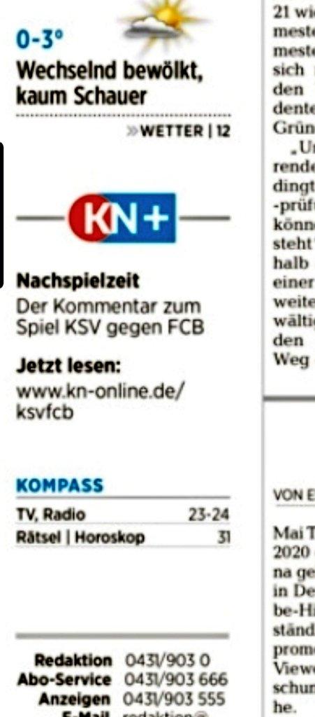 Wenn dein Team @Holstein_Kiel den @FCBayern nach Druckschluss aus dem Pokal wirft ... ganz gut gelöst, @kn_online!  https://t.co/M3DSHaJL9c https://t.co/HlpyWpAB3L
