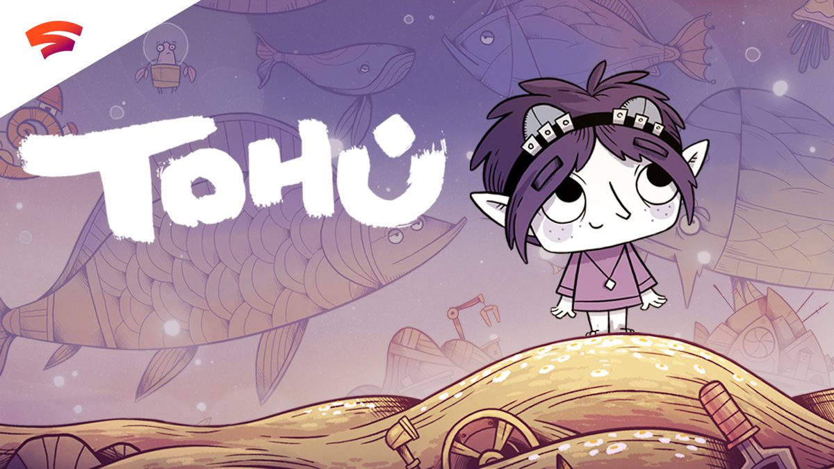 Experience a brand new adventure game set amongst a world of weird and wonderful fish planets in TOHU. Launching January 28 on Stadia.