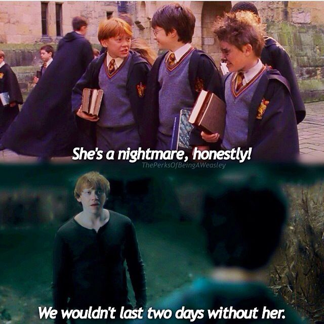 Love granger hermione ron and story weasley Why Did