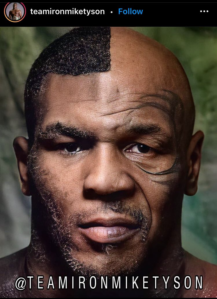 #IronMike split young an old!!!🔥🔥🔥 #MikeTyson #Tyson #Boxer #boxing #Legend #Celebrity #art #arts #artist #artistsoninstagram  #artbook #pic #pictures #drawing #drawings #drawingbook #sketch #sketches #sketchbook #808 #hawaii #PeaceBeDaJourney #OneLove #QST🤙🏾🤙🏾🤙🏾