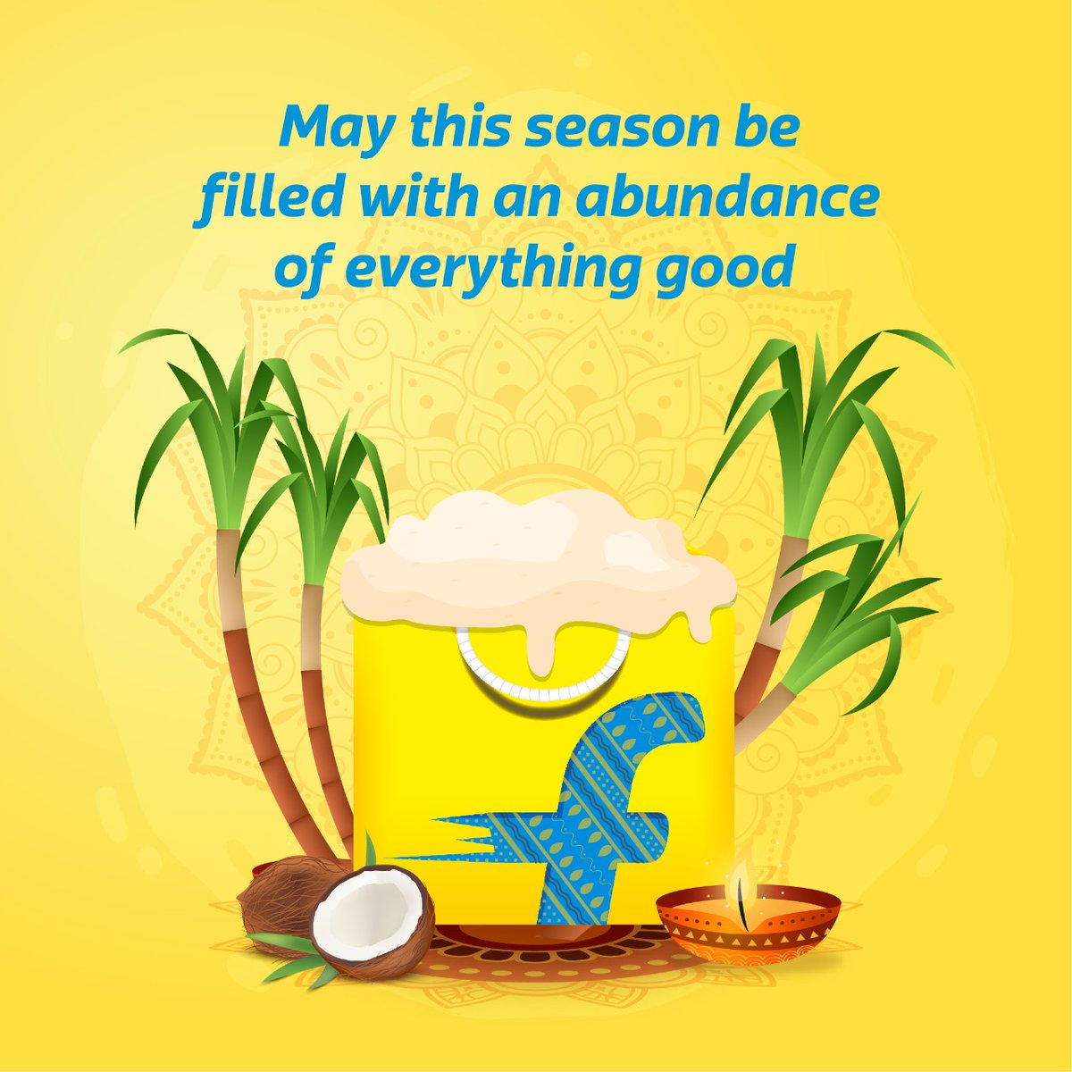 The Flipkart family wishes everyone a #HappyPongal
