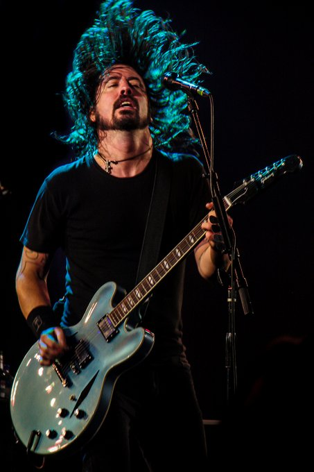 Happy 52nd Birthday to  DAVE GROHL