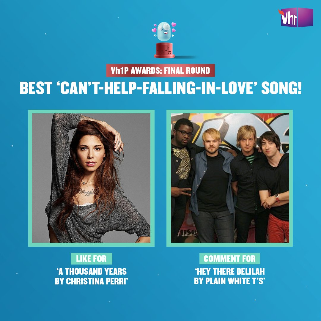 Thanks @christinaperri & @plainwhitets for making us miss our bae, when we never even had one! 💓  Like or comment now to make your favorite win the Vh1P Award.   Tune-in to celebrate 16 years of Vh1 with #Vh1PAwards, this Saturday, 6 PM on Facebook LIVE.  #Vh1India #GetWithIt