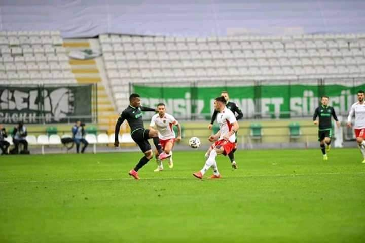 Emem Eduok featured for 61 minutes as his Turkish side cruise to a 2-1 Cup victory against Gaziantep FK.  It's his first competitive appearance for Konyaspor this year, after returning from a short-term injury he sustained late last year.  Good to be back 💪 https://t.co/KKJIznrB6P