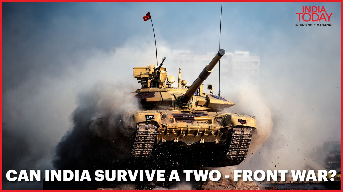What if China and Pakistan attack India together? Can India survive a two – front war? Click  to know #IndiaTodayMagazine #IndiaTodayInsight #Promo