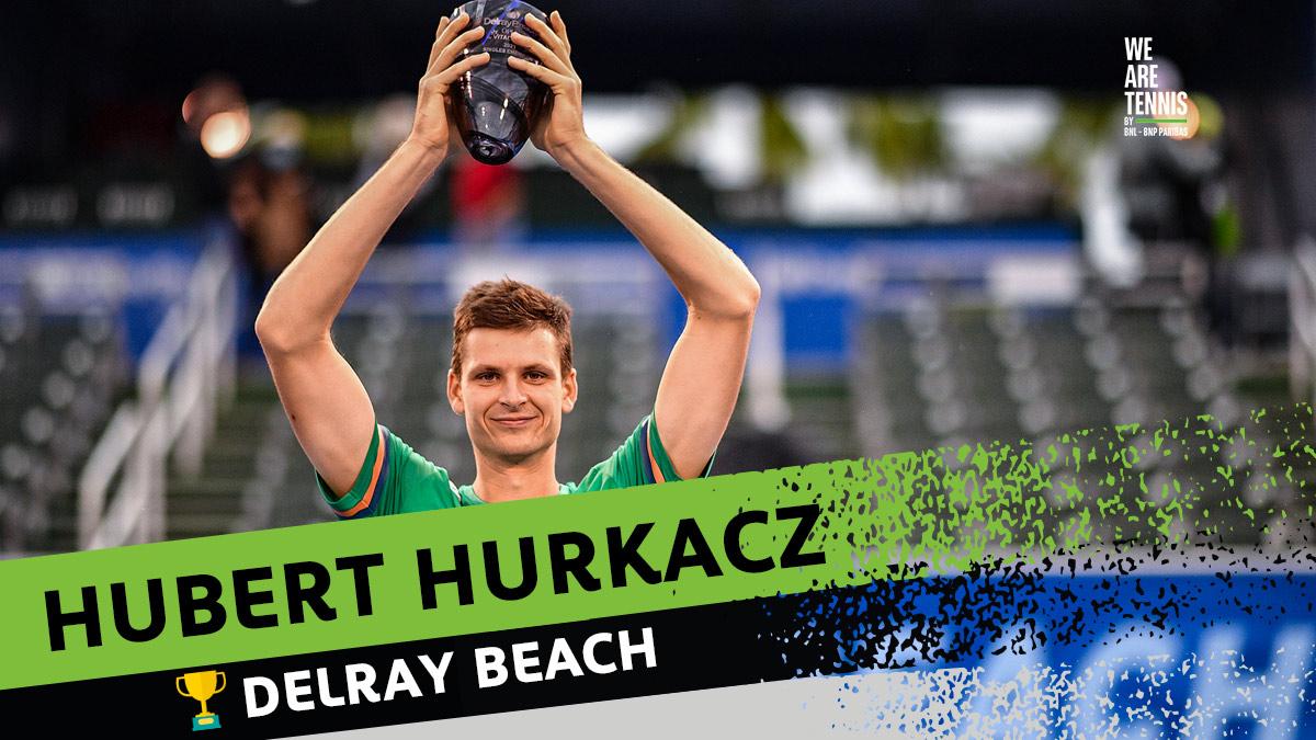 È Hukacz a vincere il #DBOpen 🏆  Sebastian Korda è arrivato un po' provato fisicamente all'appuntamento decisivo, il polacco vince il secondo titolo della carriera battendo Korda per 6-3 6-3.   Hubert torna al numero 29 del ranking ATP, a una sola posizione dal suo best ranking. https://t.co/EIE6S3DX1T