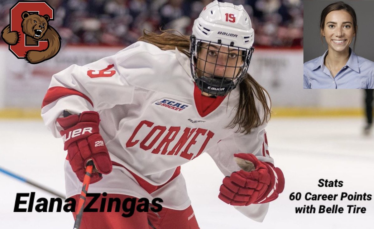 On today's podcast I talk Cornell Women's hockey player @elanazingas about her time at Cornell and what she has been up to since the Ivy League canceled winter sports. Episode can be found on Spotify and Apple Podcast. Photo is from Cornell website. https://t.co/wUeCi1tqJP