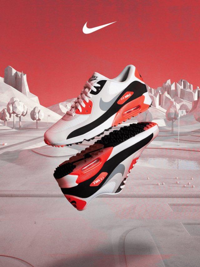 Air Max 90 Golf 'Infrared'