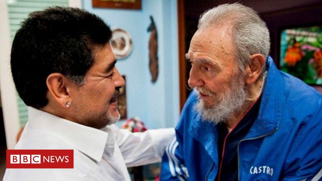Diego Maradona: Argentina football icon's off-pitch politics https://t.co/A45ckk6djz https://t.co/wQFjMv8ejQ