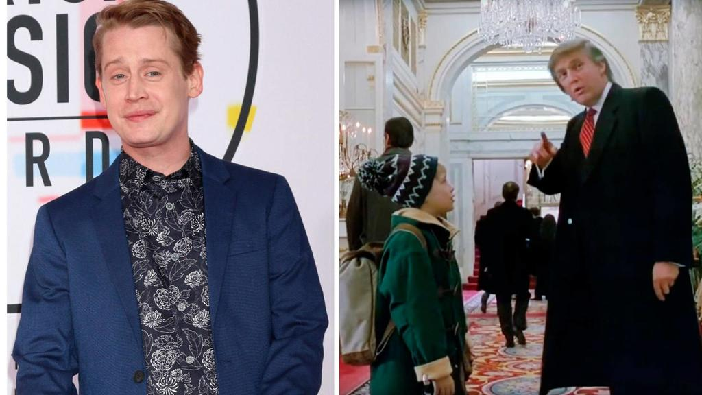 Macaulay Culkin joins calls to get Donald Trump cameo removed from Home Alone 2 Photo