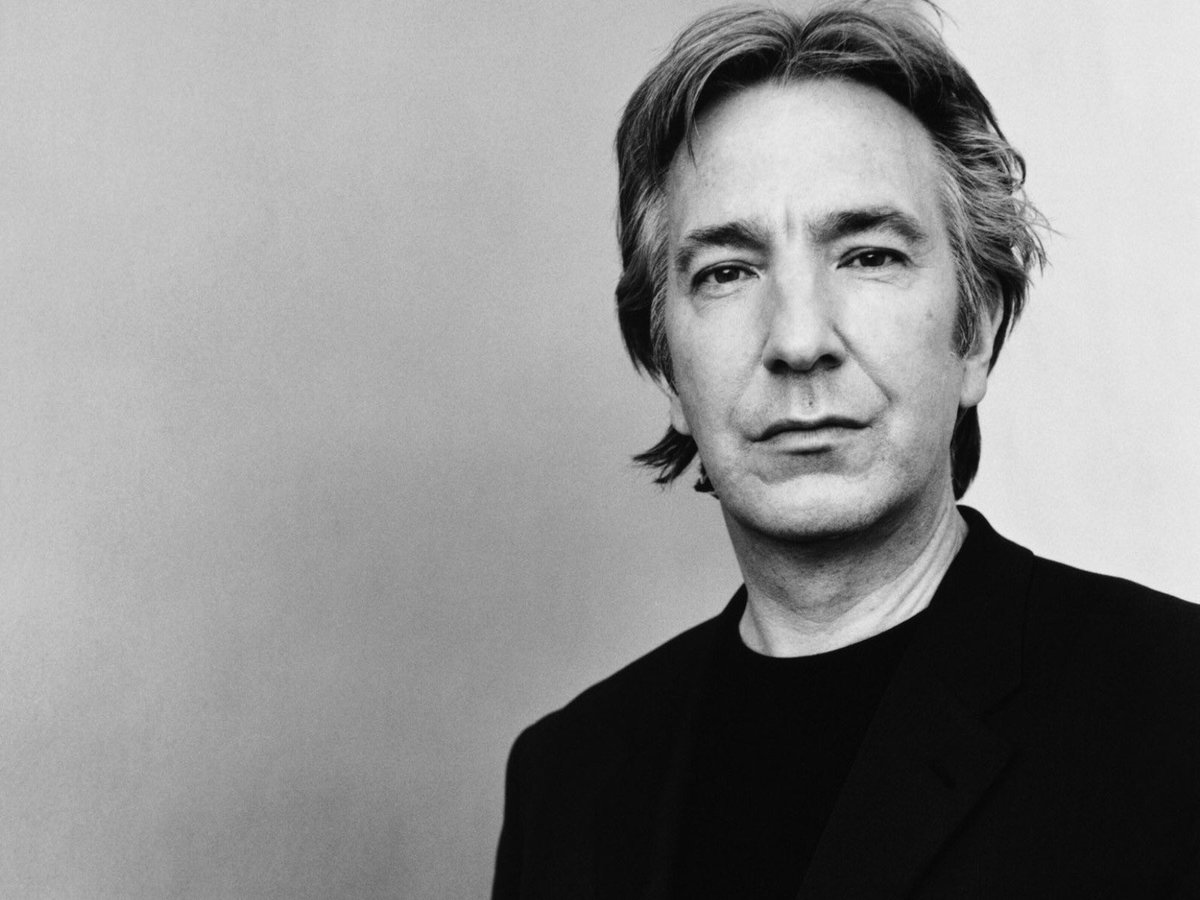 5 years without Alan Rickman. We will always remember you.