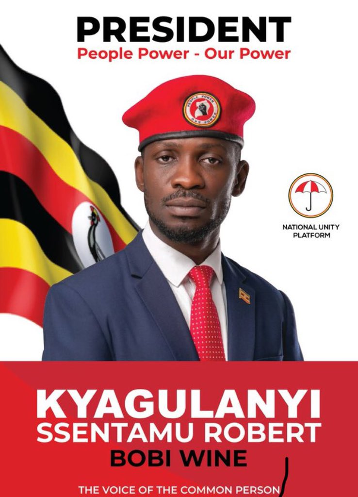 The Libration of the African Youth Start Today. #UgandaDecides2021. ✊🏿✊🏿
