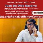 Image for the Tweet beginning: #Jueves 🎙🗣Hoy en @eslamananaelche #entrevista