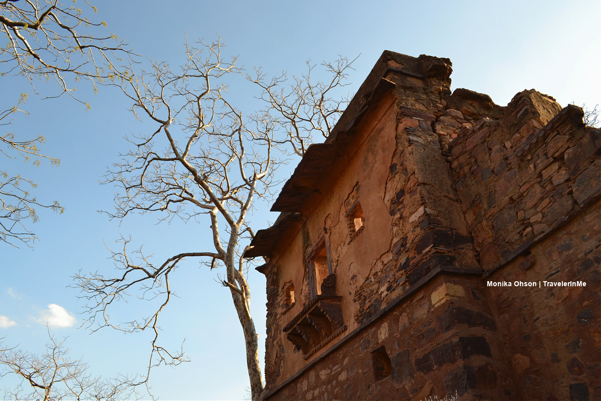 @arvjpr nominated me to post a travel picture for a 10-day travel challenge. Here is #3  I now nominate @footlooseinme      _______ #travel #travelphotography #travelblog #PhotoOfTheDay #photography #ranthambore #Fort #Rajasthan