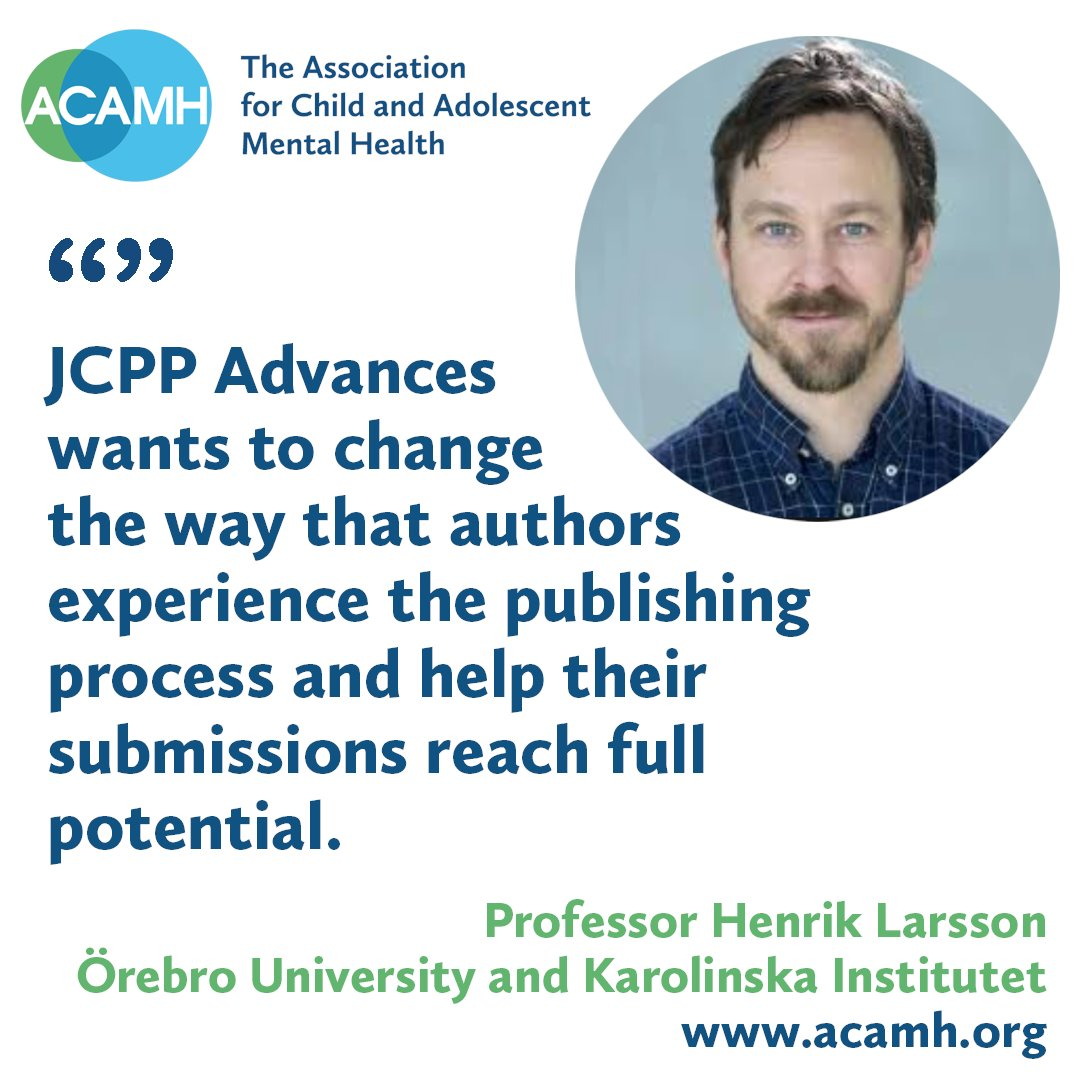 JCPP Advances is rapid, responsive, offers format free submission & embraces open science by mandating ORCiD, requiring data availability statements & offering open #science badges. @WileyPsychology @TheJCPP Submissions now open, more info on our website https://t.co/p3tgTbIvQe https://t.co/pxy7L9vaQq