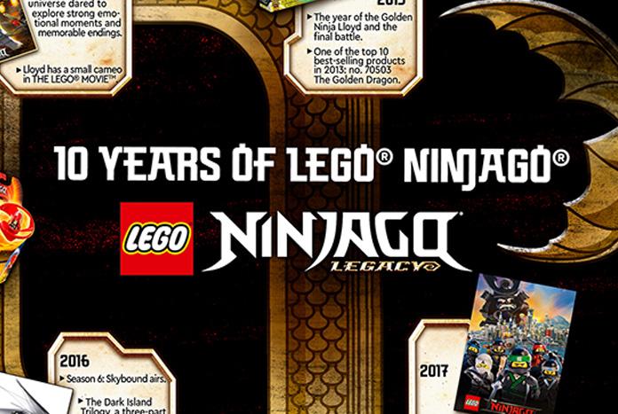 LEGO NINJAGO Marks 10 Year Anniversary with Legacy Sets and Stylish Collabs -  #StarWars #LEGONinjago @LEGO_Group #10thAnniversary