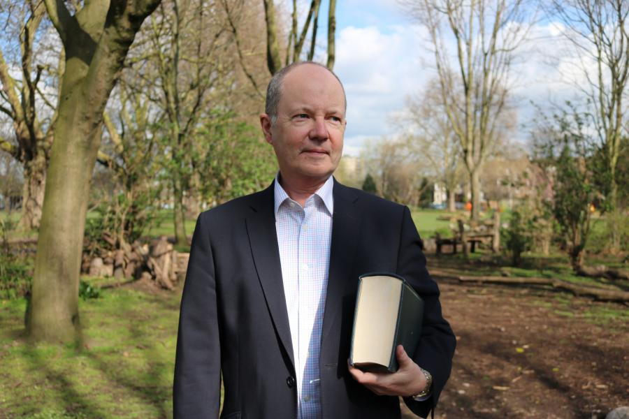 Meet James Thornton, CEO of @ClientEarth who uses the law to challenge companies' and Govts' behaviour and decisions affecting carbon emissions. Our next #climate champion on #39 ways @BBCSounds now or 1.45 today on @BBCRadio4 . Photo by @danwiltonphoto