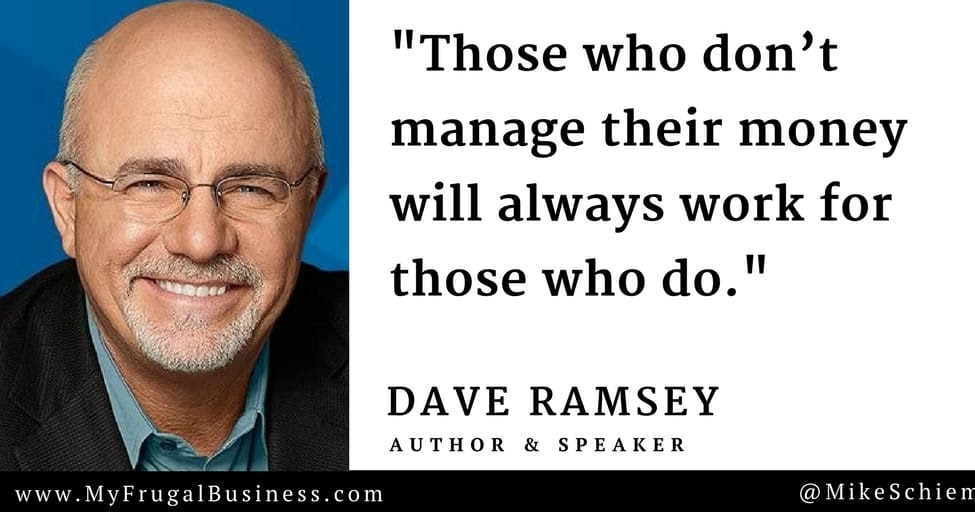 Truth! One of the best things I ever did was to get on the @DaveRamsey programme, and the 7 baby steps. Just finished Baby Step 3! Recommend it for anyone! #daveramsey #babysteps #Cornwall #thursdaymorning #thursdayvibes #ThursdayThoughts #business #Entrepreneur #FinancialFreedom