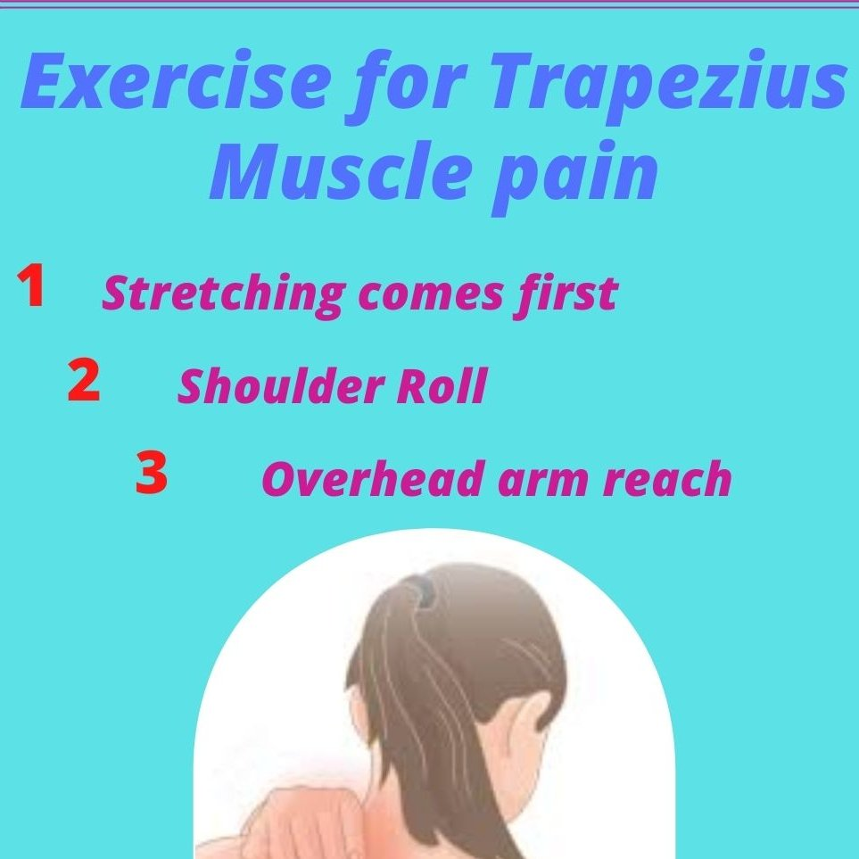 Let's learn in detail about the Causes of Trapezius and ways to treat the muscle main. #exercise #healthcare #pain