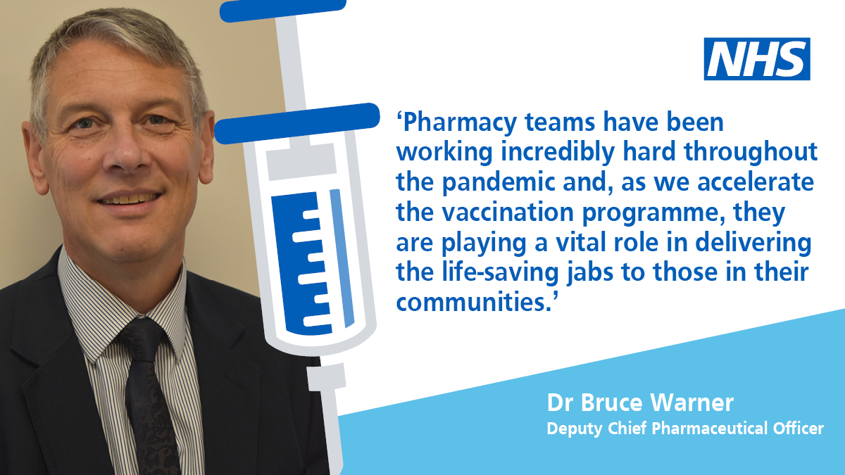 📰 High street #pharmacies are now delivering the @NHSEngland #COVID19Vaccine   We're accelerating the biggest vaccination programme in our history – read more in today's press release:    #CommunityPharmacy #PrimaryCare #PrimaryCareHeroes