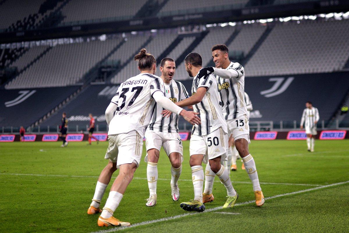 First senior game = ⚽️  Dream debut for new Juventus hero Hamza Rafia!   #UCL