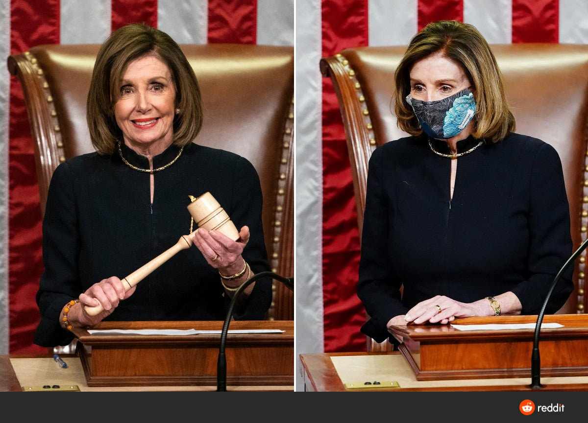 @AP 2 Impeachments, 1 Dress