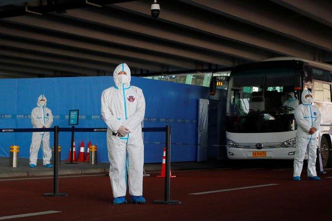 Two members of WHO team blocked from entering China over failed coronavirus antibody test Photo