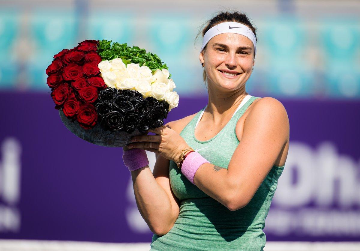 Los campeones de la primera semana de tenis WTA y ATP de 2021  @SabalenkaA en #AbuDhabiWTA  @alexdeminaur en #AntalyaOpen  @HubertHurkacz en @DelrayBeachOpen   📸 @WTA @alexdeminaur @Bigshots_Photo https://t.co/hc5VHXgi3s