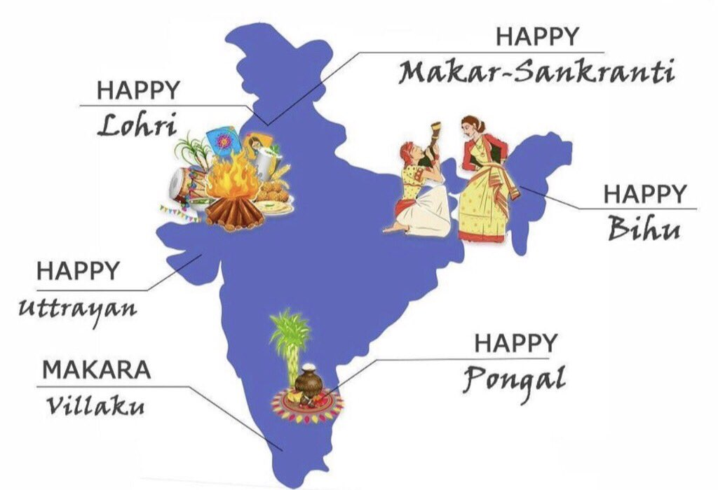 Wishing everyone a very Happy festive season ✨  #MakarSankranti #Pongal #Bihu #Uttrayan #Lohri #Makaravilakku