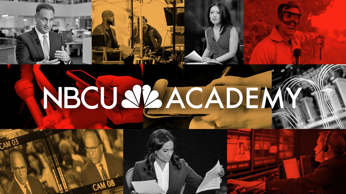 .@NBCUAcademy is investing in journalism education at 17 historically Black colleges and universities, Hispanic-serving institutions, and colleges with significant Latino, Asian American and Pacific Islander, Black, Indigenous and tribal populations. #NBCUAcademy