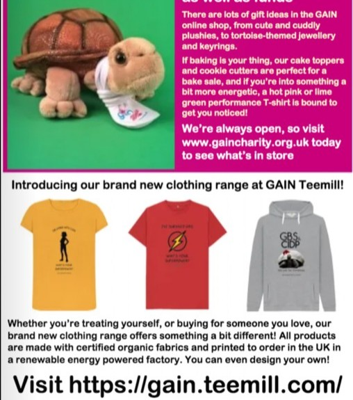 With all the non-essential shops shut, do you have spare cash burning a hole in your pocket?! Why not buy a gift for yourself or a loved one & support GAIN at the same time? Visit our online shop for inspiration or order a T-shirt or hoodie from GAIN Teemill. #ThursdayThoughts