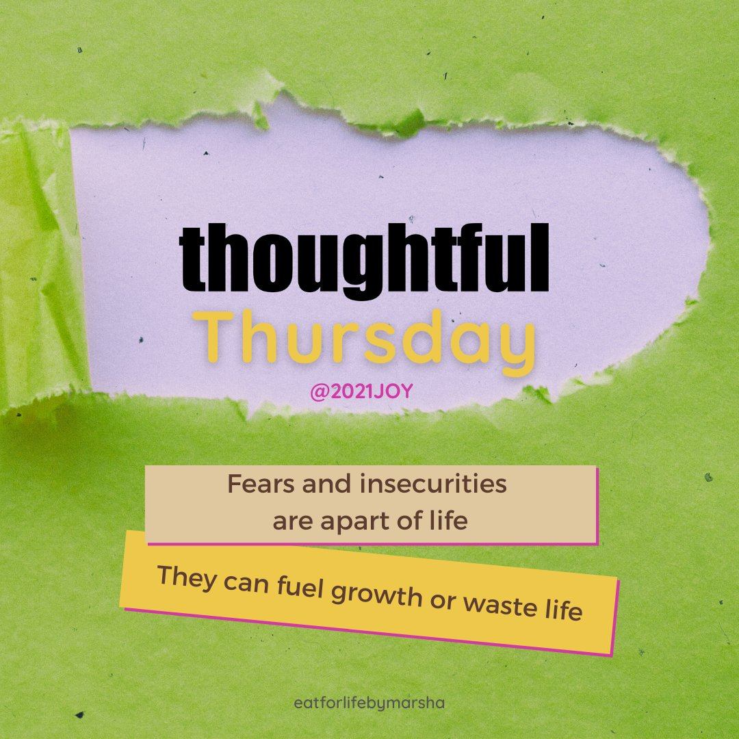 Day 14 of 2021 😊 and it's #thoughtful #thursday  Consider #fears and #insecurities holding you accountable to your promises of happiness in life, much #love and #joy 😊💛💚  #thoughtfulthursday #2021joy  #thursdaythoughts #thoughtoftheday #love #motivation #inspiration