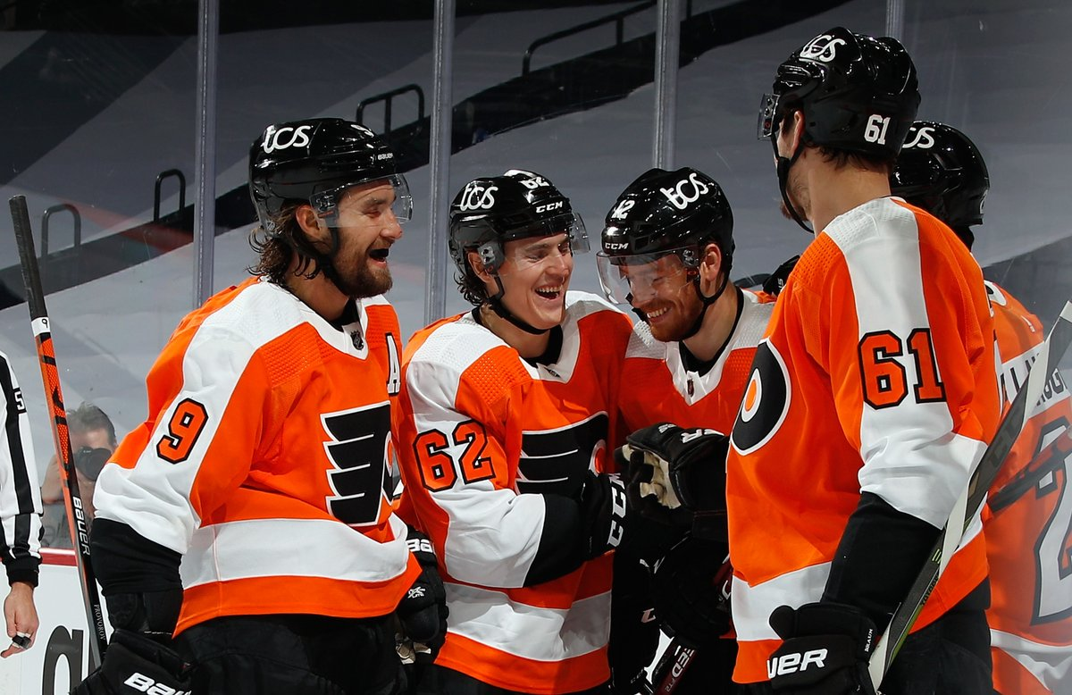 A triumphant return for two players, standout performances from young players and contributions across the board.  #Flyers 5 Takeaways from Wednesday's win:   #FlyersTalk #AnytimeAnywhere @973espn