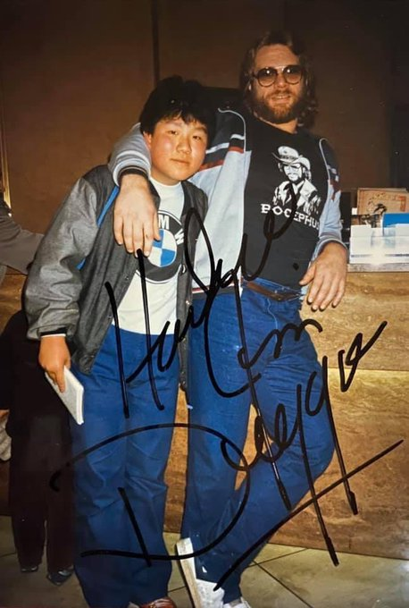 Happy Birthday to Hacksaw Jim Duggan            35 years ago