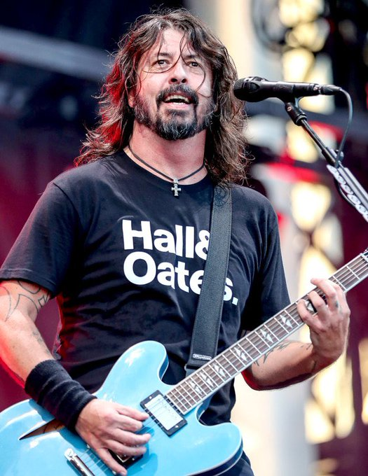 Happy 52nd birthday to a true rock legend and even better human being, Dave Grohl.
