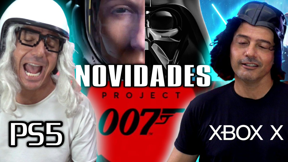 COMEÇANDO! AGORA, VEM PRA ESTREIA DO VÍDEO NOVO,  007, Star Wars e Gameplay do Returnal 🎮 Irmãos Piologo Games https://t.co/uwtR7Qfmxo https://t.co/uwtR7Qfmxo https://t.co/uwtR7Qfmxo #returnal #project007 #starwars #Ubisoft #games #jogos #ps5 #XboxSeriesX https://t.co/GozCSLZaqe