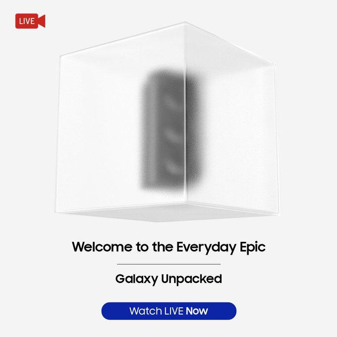 time to welcome everyday EPIC  no more curiosity, go check yourself it's live  #SamsungUnpacked